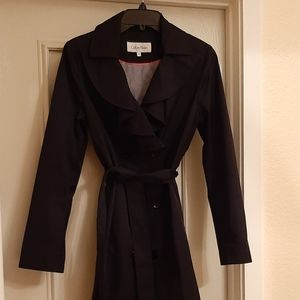 Calvin Klein trench coat XS
